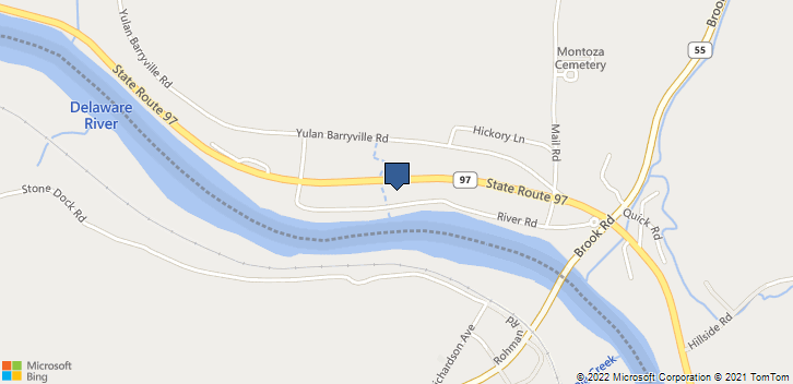 54 River Road Barryville, NY, 12719 Map
